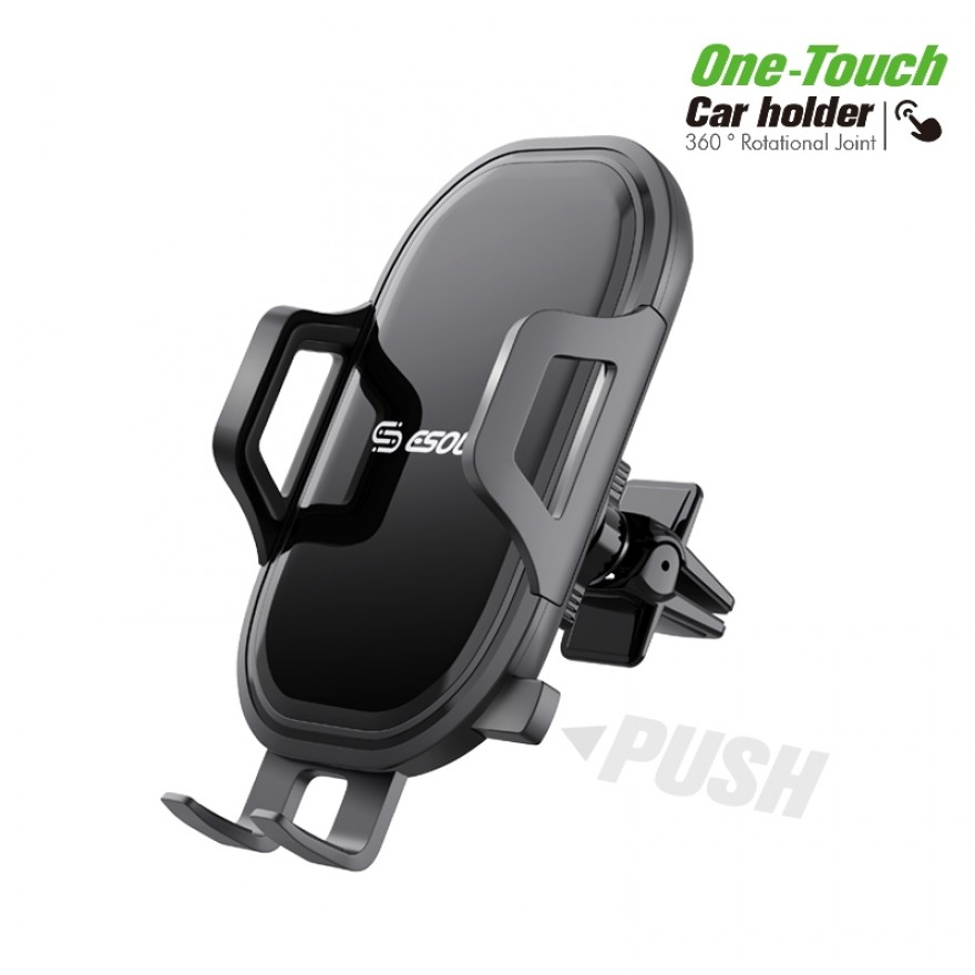 EH32BK:One Touch Air Vent Car Mount