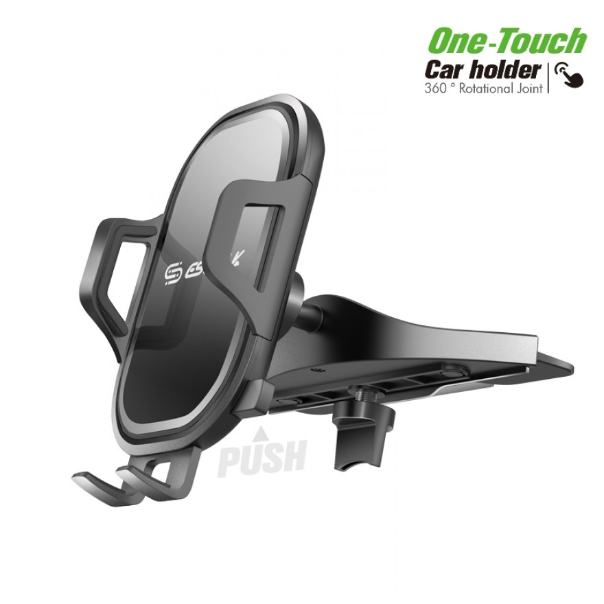 EH34BK:One Touch CD Slot Car Mount