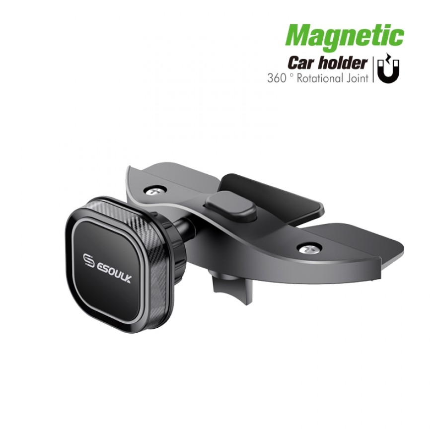 EH36BK: Magnet CD Slot Car Mount