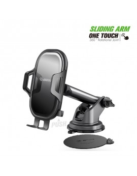 EH35BK:Dashboard Car Mount with 3M adhesive pad