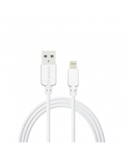 EC38P-IP-WH: Esoulk 2A Heavy Duty USB Cable 3M(10ft) White