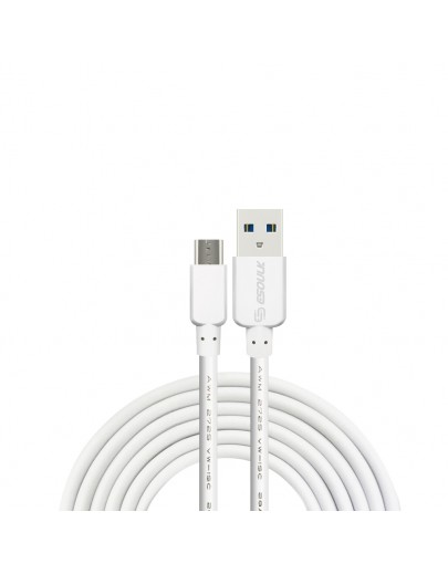 EC30P-MU-WH:Esoulk 5ft  Faster Speed Charging Cable For Micro USB-White