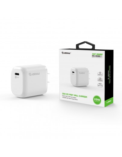EA17-WH: 20W PD Wall Adapter