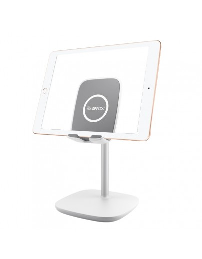 EH10P-WH:Esoulk Universal Tablet Stand Desktop Holder-White