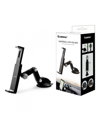 EH11PBK: Esoulk Car Mount for Smartphone and iPad Mini