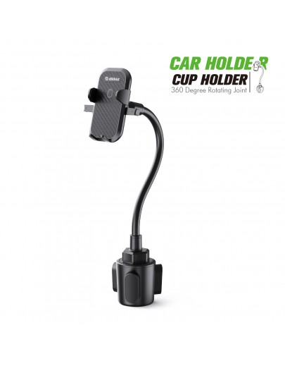 EH37BK: Cup Holder Mount 11 inch flexible gooseneck
