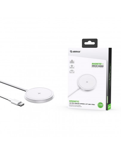 EW07WH: 15W MAGNETIC WIRELESS CHARGER