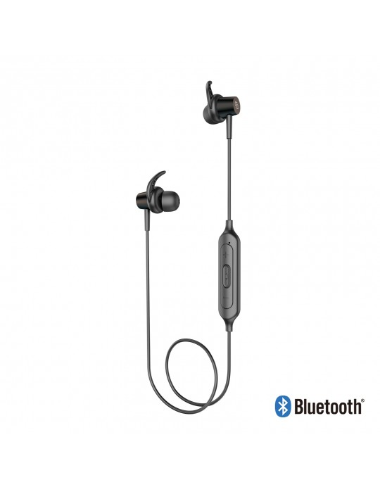 EE06-BK:Bluetooth Sport Headset Metal shell with Magnet Black