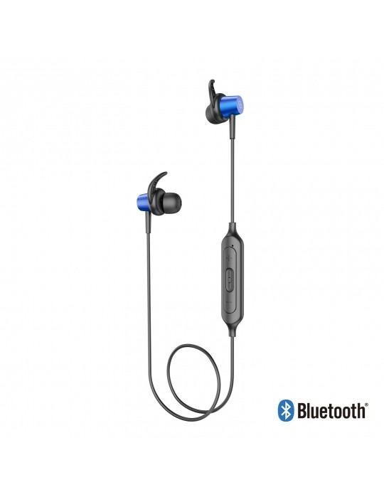 EE06-BU:Bluetooth Sport Headset Metal shell with Magnet Blue